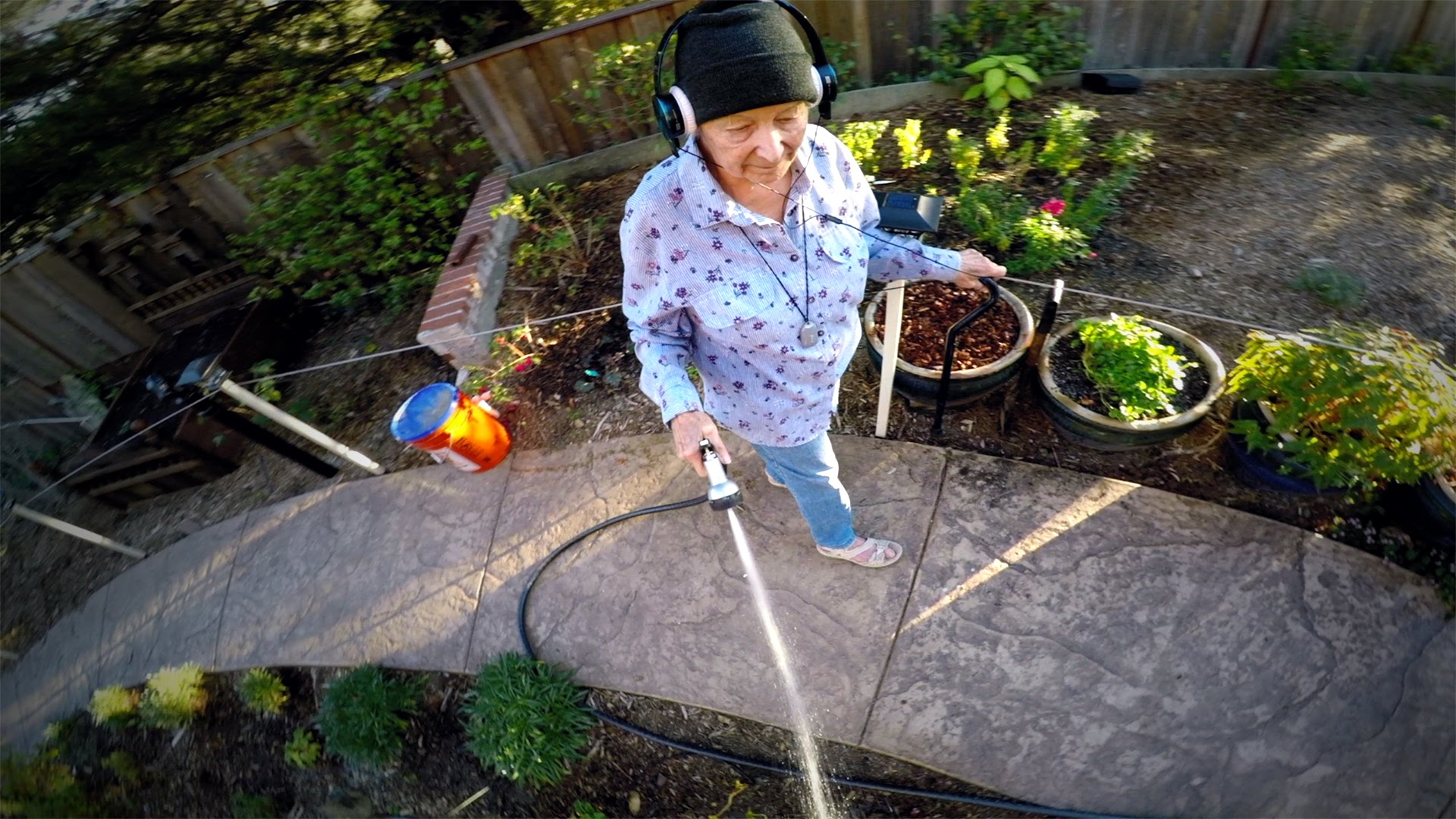 Grandma Flies A Drone