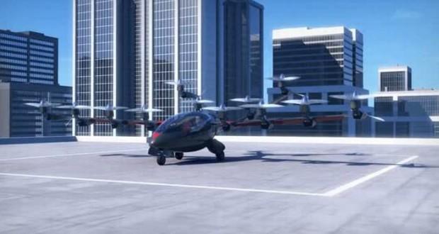 The Joby Aviation S2 electric VTOL aircraft