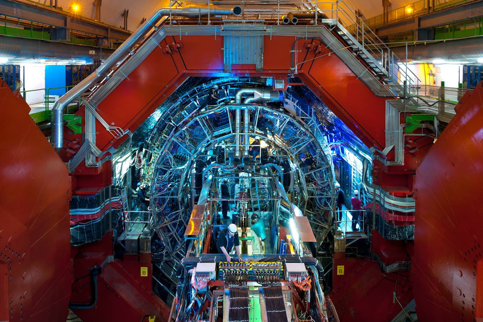 Cool Footage of the Large Hadron Collider Captured by Drone!