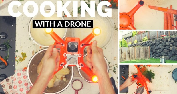 cooking-using-a-drone