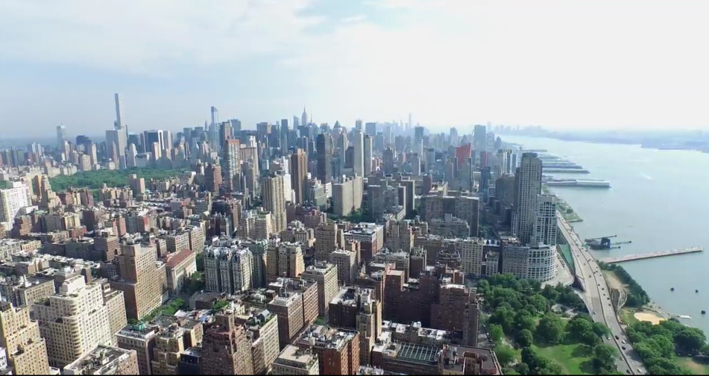 12 Amazing Cityscape View From A Drone Perspective