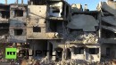 Shocking Drone Footage Shows Full Destruction of Syrian city
