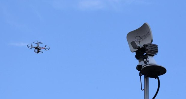 drone monitor tower