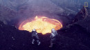 Drones Gets Upclose for a Spectacular Volcano Shot