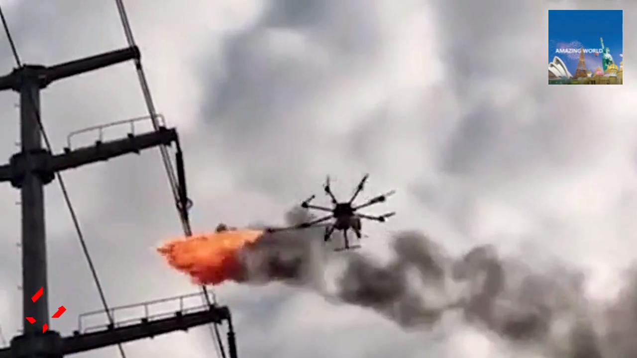 Flame Spewing Drone Rubbish on How To Build A Quadcopter Drone