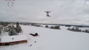 Flying Chainsaw Drone