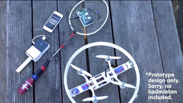 Quadcopters Ready to Break in the Sporting Arena